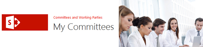 SharePoint My committees