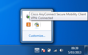 Cisco AnyConnect (Secure Mobility Client)