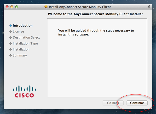 cisco anyconnect secure mobility client mac 4.6